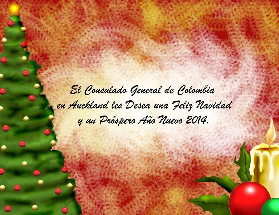 Un saludo de navidad y buenos deseos para todos nuestros - Deseos para la navidad ...