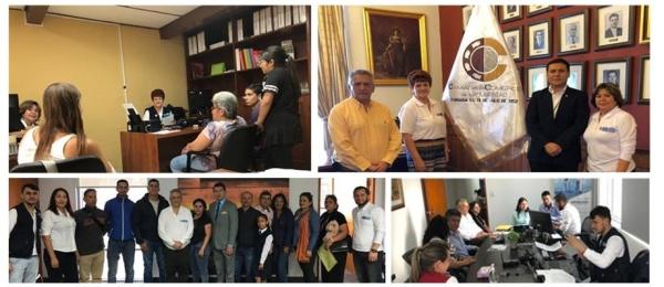 El Consulado de Colombia en Lima realizó jornadas móviles en Arequipa y Trujillo de 2019
