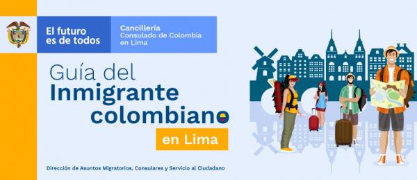 Guía del inmigrante colombiano en Lima